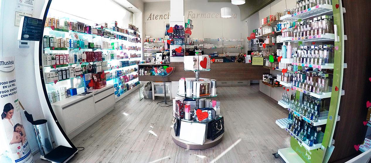 Farmacia Dalí - Vista interior
