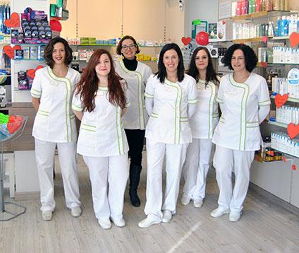 Equipo de Farmacia Dalí